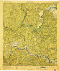 Boulogne Georgia Historical topographic map, 1:62500 scale, 15 X 15 Minute, Year 1919