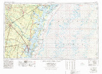 Brunswick Georgia Historical topographic map, 1:250000 scale, 1 X 2 Degree, Year 1978