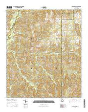Buena Vista NW Georgia Current topographic map, 1:24000 scale, 7.5 X 7.5 Minute, Year 2014 from Georgia Maps Store