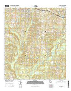 Cairo South Georgia Current topographic map, 1:24000 scale, 7.5 X 7.5 Minute, Year 2014 from Georgia Map Store