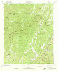 Cashes Valley Georgia Historical topographic map, 1:24000 scale, 7.5 X 7.5 Minute, Year 1946