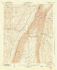 Catlett Georgia Historical topographic map, 1:24000 scale, 7.5 X 7.5 Minute, Year 1947