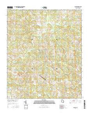 Celeste Georgia Current topographic map, 1:24000 scale, 7.5 X 7.5 Minute, Year 2014 from Georgia Maps Store