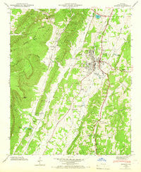 Estelle Georgia Historical topographic map, 1:24000 scale, 7.5 X 7.5 Minute, Year 1946