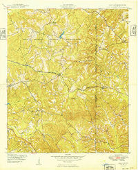 Glen Alta Georgia Historical topographic map, 1:24000 scale, 7.5 X 7.5 Minute, Year 1949