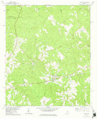 Haddock Georgia Historical topographic map, 1:24000 scale, 7.5 X 7.5 Minute, Year 1978