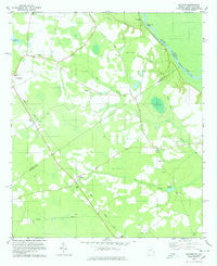 Kildare Georgia Historical topographic map, 1:24000 scale, 7.5 X 7.5 Minute, Year 1978