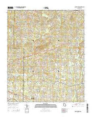 Lost Mountain Georgia Current topographic map, 1:24000 scale, 7.5 X 7.5 Minute, Year 2014 from Georgia Maps Store