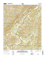 Rico Georgia Current topographic map, 1:24000 scale, 7.5 X 7.5 Minute, Year 2014 from Georgia Maps Store