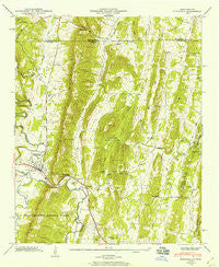 Ringgold Georgia Historical topographic map, 1:24000 scale, 7.5 X 7.5 Minute, Year 1946