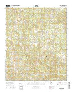 Sandy Cross Georgia Current topographic map, 1:24000 scale, 7.5 X 7.5 Minute, Year 2014 from Georgia Map Store
