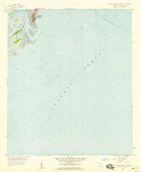 Savannah Beach South Georgia Historical topographic map, 1:24000 scale, 7.5 X 7.5 Minute, Year 1957