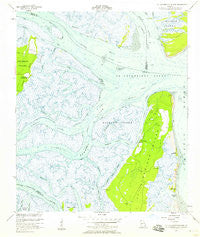 St Catherines Sound Georgia Historical topographic map, 1:24000 scale, 7.5 X 7.5 Minute, Year 1954
