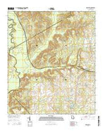 Westlake Georgia Current topographic map, 1:24000 scale, 7.5 X 7.5 Minute, Year 2014 from Georgia Map Store