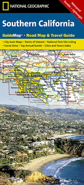 Buy map California, Southern GuideMap by National Geographic Maps