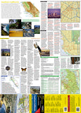 California, Southern GuideMap by National Geographic Maps - Front of map