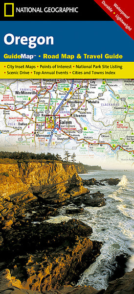 Buy map Oregon GuideMap by National Geographic Maps