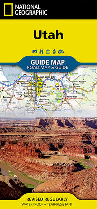 Buy map Utah GuideMap by National Geographic Maps