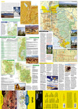 Utah GuideMap by National Geographic Maps - Front of map