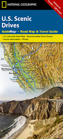 Buy Map US Scenic Drives GuideMap By National Geographic Maps - Geographic map us