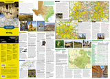 Texas GuideMap by National Geographic Maps - Front of map