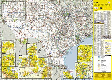 Buy Map Texas Guidemap By National Geographic Maps Yellowmaps Map