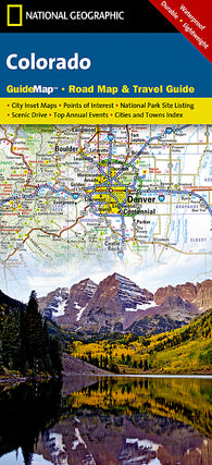 Buy map Colorado GuideMap by National Geographic Maps