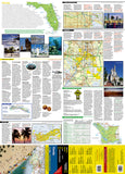 Florida GuideMap by National Geographic Maps - Front of map