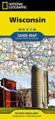 Buy map Wisconsin GuideMap by National Geographic Maps from Wisconsin Maps Store