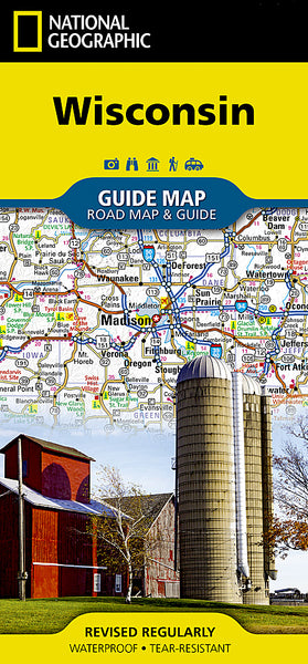 Buy map Wisconsin GuideMap by National Geographic Maps