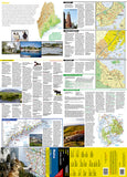 Maine GuideMap by National Geographic Maps - Front of map