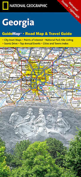 Buy map Georgia GuideMap by National Geographic Maps