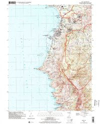 Agat Guam Historical topographic map, 1:24000 scale, 7.5 X 7.5 Minute, Year 2000