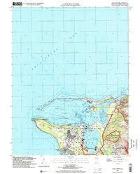 Apra Harbor Guam Historical topographic map, 1:24000 scale, 7.5 X 7.5 Minute, Year 2000