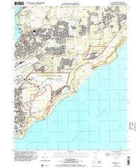 Dededo Guam Historical topographic map, 1:24000 scale, 7.5 X 7.5 Minute, Year 2000