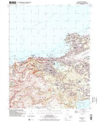 Hagatna Guam Historical topographic map, 1:24000 scale, 7.5 X 7.5 Minute, Year 2000