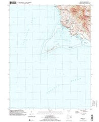 Merizo Guam Historical topographic map, 1:24000 scale, 7.5 X 7.5 Minute, Year 2000