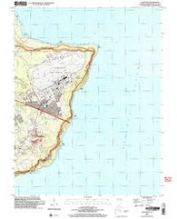 Pati Point Guam Historical topographic map, 1:24000 scale, 7.5 X 7.5 Minute, Year 2000
