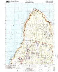 Ritidian Point Guam Historical topographic map, 1:24000 scale, 7.5 X 7.5 Minute, Year 2000