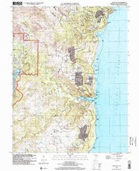 Talofofo Guam Historical topographic map, 1:24000 scale, 7.5 X 7.5 Minute, Year 2000