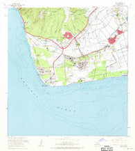 Ewa Hawaii Historical topographic map, 1:24000 scale, 7.5 X 7.5 Minute, Year 1968
