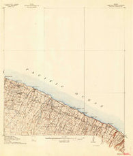 Hamakua Hawaii Historical topographic map, 1:62500 scale, 15 X 15 Minute, Year 1915