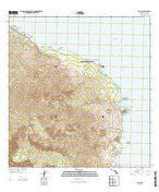 Hana Hawaii Current topographic map, 1:24000 scale, 7.5 X 7.5 Minute, Year 2013 from Hawaii Map Store