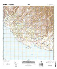 Hanapepe Hawaii Historical topographic map, 1:24000 scale, 7.5 X 7.5 Minute, Year 2013