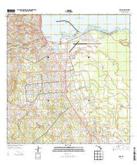 Hilo Hawaii Historical topographic map, 1:24000 scale, 7.5 X 7.5 Minute, Year 2013