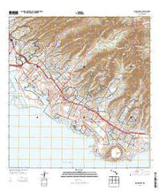 Honolulu Hawaii Current topographic map, 1:24000 scale, 7.5 X 7.5 Minute, Year 2013 from Hawaii Maps Store