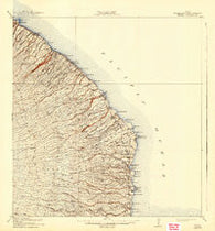 Honomu Hawaii Historical topographic map, 1:62500 scale, 15 X 15 Minute, Year 1915