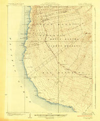 Hoopuloa Hawaii Historical topographic map, 1:62500 scale, 15 X 15 Minute, Year 1928
