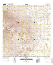 Hualalai Hawaii Current topographic map, 1:24000 scale, 7.5 X 7.5 Minute, Year 2013 from Hawaii Maps Store