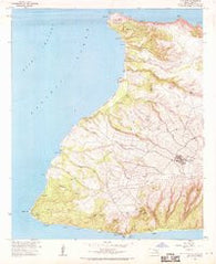 Ilio Point Hawaii Historical topographic map, 1:24000 scale, 7.5 X 7.5 Minute, Year 1968